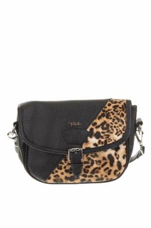 Дамска чанта Verde, Цвят Черен, Еко кожа, Цена 11,80лв.