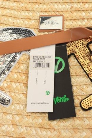 Чанта Verde, Цвят Жълт, Други тъкани, еко кожа, Цена 20,65лв.