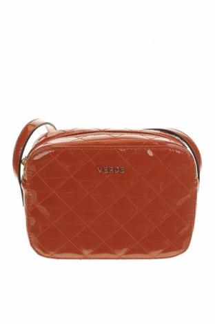 Дамска чанта Verde, Цвят Кафяв, Еко кожа, Цена 12,39лв.