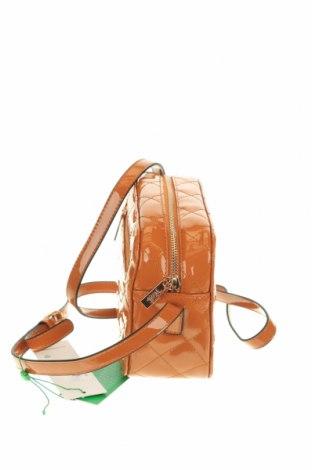 Дамска чанта Verde, Цвят Оранжев, Еко кожа, Цена 12,39лв.