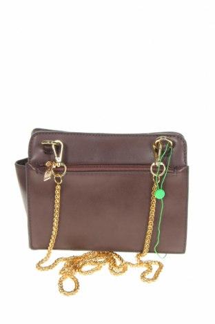 Дамска чанта Verde, Цвят Кафяв, Еко кожа, Цена 15,34лв.