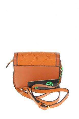 Дамска чанта Verde, Цвят Кафяв, Еко кожа, Цена 25,37лв.