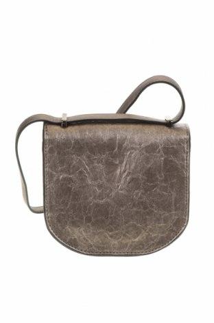 Дамска чанта Verde, Цвят Сив, Еко кожа, Цена 11,78лв.