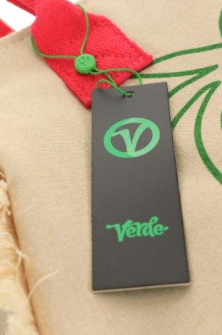 Чанта Verde, Цвят Бежов, Текстил, Цена 18,63лв.
