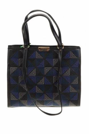 Γυναικεία τσάντα Verde, Χρώμα Μαύρο, Δερματίνη, Τιμή 15,60€