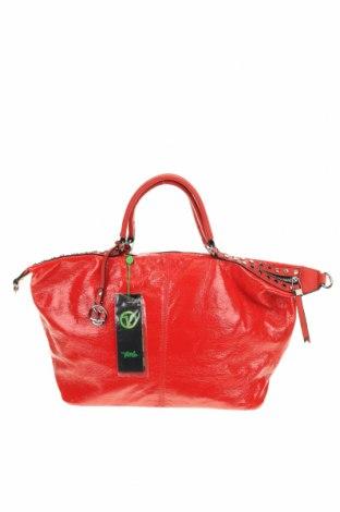 Γυναικεία τσάντα Verde, Χρώμα Κόκκινο, Δερματίνη, Τιμή 34,41€
