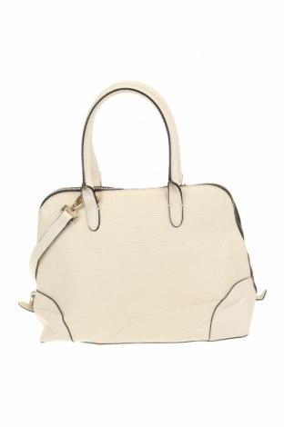 Дамска чанта Zara, Цвят Бял, Еко кожа, Цена 37,91лв.