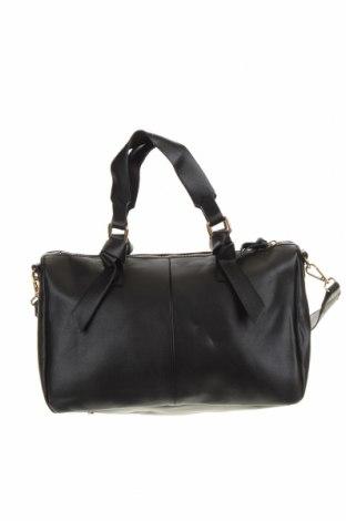 Дамска чанта Zara Trafaluc, Цвят Черен, Еко кожа, Цена 41,90лв.