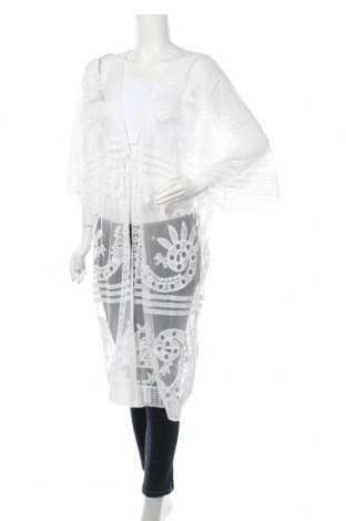 Γυναικεία ζακέτα, Μέγεθος XL, Χρώμα Λευκό, 100% πολυεστέρας, Τιμή 14,29€