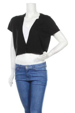 Дамска жилетка Ann Taylor, Размер XL, Цвят Черен, Памук, Цена 15,75лв.