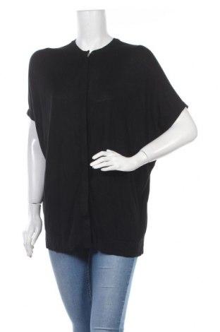 Дамска жилетка COS, Размер S, Цвят Черен, Вискоза, Цена 36,75лв.
