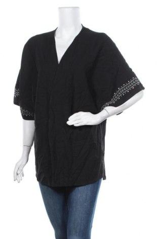 Дамска жилетка Clothing & Co, Размер L, Цвят Черен, Полиестер, Цена 11,55лв.