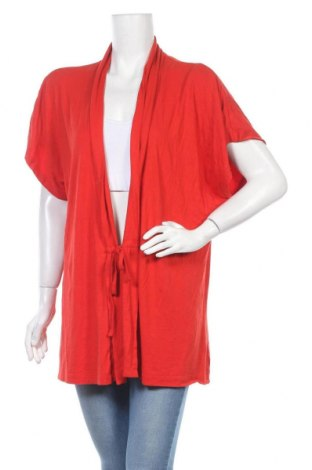 Γυναικεία ζακέτα Gina Laura, Μέγεθος XL, Χρώμα Πορτοκαλί, 95% βισκόζη, 5% ελαστάνη, Τιμή 6,14€