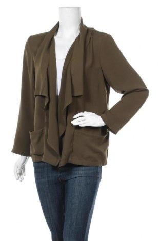 Дамска жилетка H&M, Размер L, Цвят Зелен, Полиестер, Цена 6,30лв.