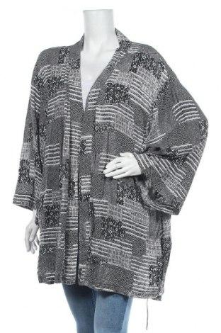 Дамска жилетка H&M by Coachella, Размер XL, Цвят Черен, 52% лиосел, 48% вискоза, Цена 18,48лв.