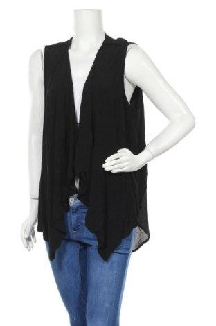 Дамска жилетка Katies, Размер XL, Цвят Черен, Вискоза, Цена 50,72лв.