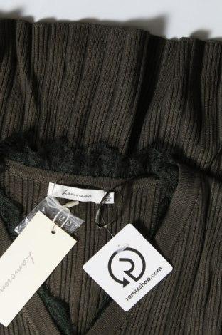 Дамска жилетка La Morena, Размер S, Цвят Зелен, Вискоза, Цена 17,70лв.