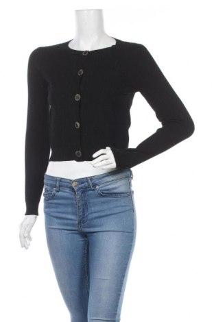 Дамска жилетка Morgan De Toi, Размер S, Цвят Черен, 80% вискоза, 20% полиамид, Цена 20,25лв.