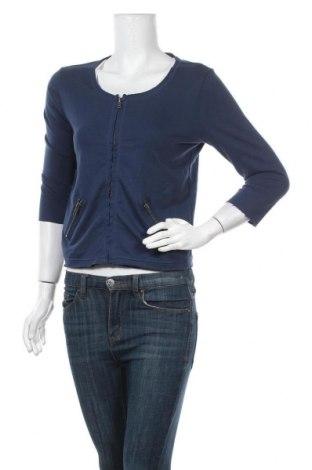 Дамска жилетка S.Oliver, Размер S, Цвят Син, 60% памук, 40% полиестер, Цена 17,64лв.