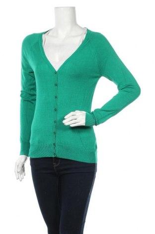 Дамска жилетка Suite Blanco, Размер M, Цвят Зелен, 80% вискоза, 20% полиамид, Цена 23,60лв.