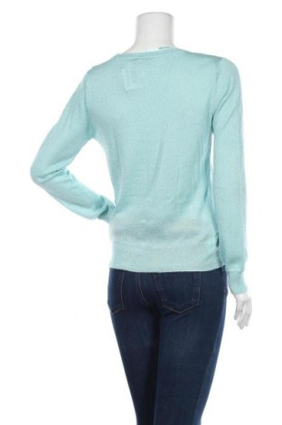 Дамска жилетка Suite Blanco, Размер M, Цвят Син, 80% вискоза, 20% метални нишки, Цена 23,60лв.