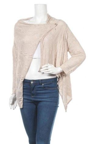 Дамска жилетка Tom Tailor, Размер XL, Цвят Кафяв, 53% памук, 47% вискоза, Цена 53,92лв.