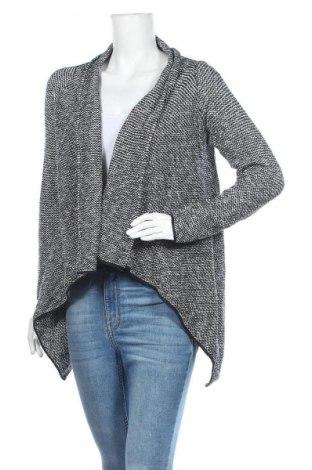 Дамска жилетка Zara Knitwear, Размер M, Цвят Черен, 42% памук, 38% акрил, 15% полиамид, 3% вълна, 2% еластан, Цена 10,71лв.