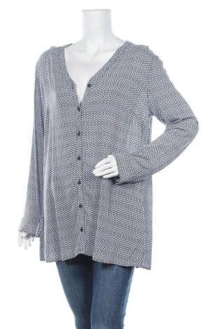 Дамска риза Alba Moda, Размер XL, Цвят Син, Вискоза, Цена 13,44лв.