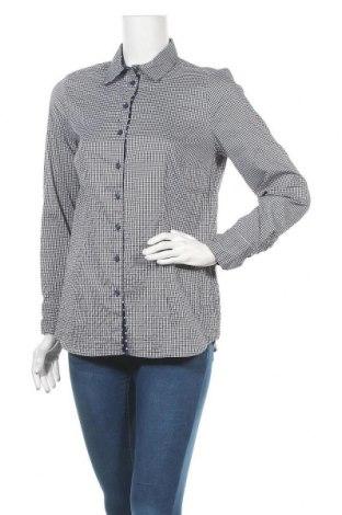 Дамска риза Alba Moda, Размер M, Цвят Син, 47% полиестер, 37% памук, 11% полиамид, 5% еластан, Цена 4,46лв.