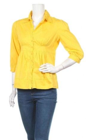 Дамска риза Antilia Femme, Размер L, Цвят Жълт, 97% памук, 3% еластан, Цена 4,46лв.