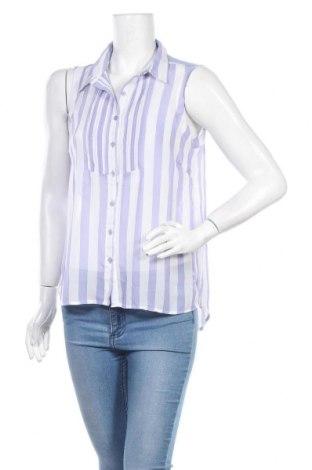 Дамска риза Broadway, Размер L, Цвят Син, 100% полиестер, Цена 13,44лв.