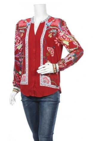 Γυναικείο πουκάμισο Desigual, Μέγεθος S, Χρώμα Πολύχρωμο, Βισκόζη, Τιμή 23,27€