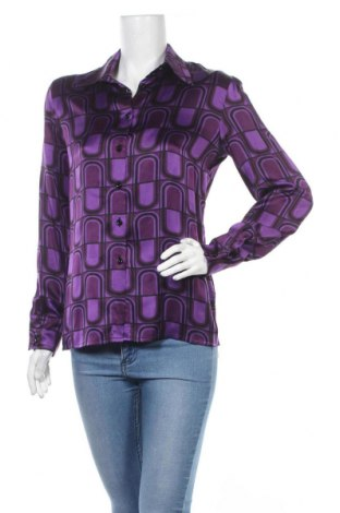 Γυναικείο πουκάμισο Escada, Μέγεθος S, Χρώμα Βιολετί, Μετάξι, Τιμή 24,60€