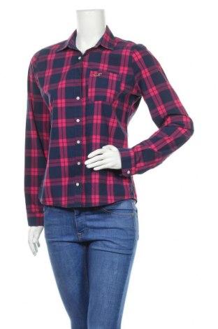 Γυναικείο πουκάμισο Hollister, Μέγεθος L, Χρώμα Μπλέ, Βαμβάκι, Τιμή 8,35€