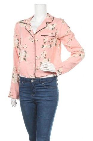 Γυναικείο πουκάμισο Hollister, Μέγεθος M, Χρώμα Ρόζ , Βισκόζη, Τιμή 6,99€