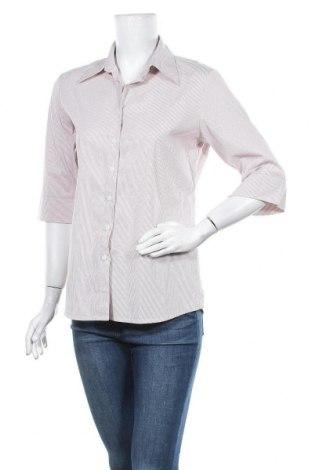 Дамска риза Jobeline, Размер M, Цвят Бежов, 75% памук, 23% полиамид, 2% еластан, Цена 12,50лв.