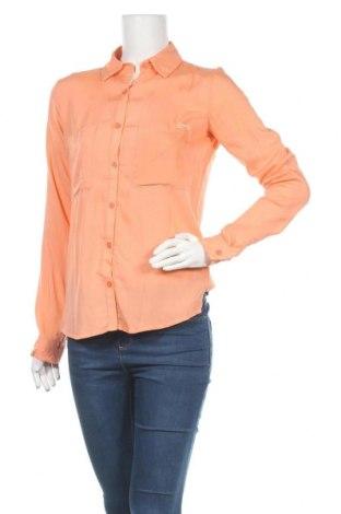 Дамска риза Lois, Размер S, Цвят Оранжев, Вискоза, Цена 14,79лв.
