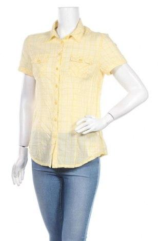 Дамска риза Mustang, Размер M, Цвят Жълт, Памук, Цена 12,18лв.