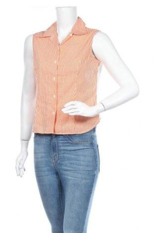 Дамска риза Robert Friedman, Размер M, Цвят Оранжев, Памук, Цена 8,40лв.