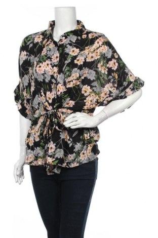 Γυναικείο πουκάμισο Violeta by Mango, Μέγεθος M, Χρώμα Πολύχρωμο, Βισκόζη, Τιμή 14,65€
