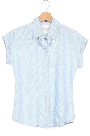 Дамска риза Wrangler, Размер XS, Цвят Син, 100% модал, Цена 14,28лв.