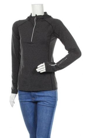 Γυναικεία αθλητική μπλούζα H&M Sport, Μέγεθος S, Χρώμα Γκρί, 86% πολυεστέρας, 14% ελαστάνη, Τιμή 11,78€