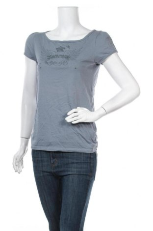 Дамска тениска Anastacia By S.Oliver, Размер L, Цвят Син, Памук, Цена 17,96лв.