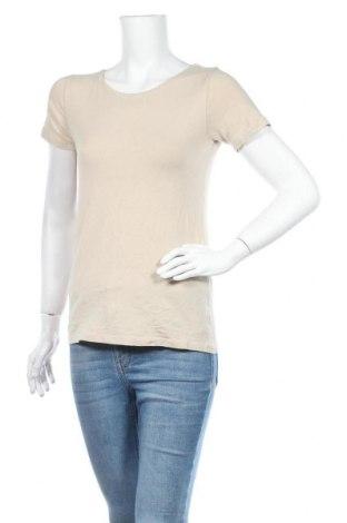 Дамска тениска Designer S, Размер S, Цвят Бежов, Цена 4,56лв.