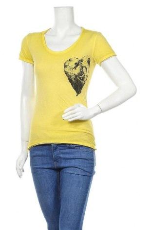 Dámské tričko Diesel, Velikost S, Barva Žlutá, Bavlna, Cena  488,00Kč