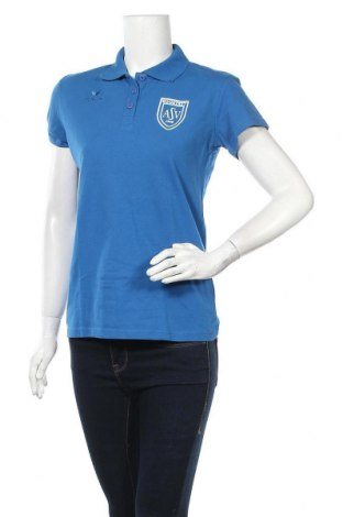 Дамска тениска Erima, Размер M, Цвят Син, 95% памук, 5% еластан, Цена 30,24лв.