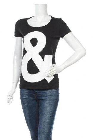 Дамска тениска Boss Orange, Размер S, Цвят Черен, Памук, Цена 45,36лв.