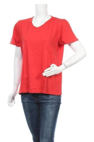 Дамска тениска Kingfield, Размер L, Цвят Червен, Памук, Цена 16,96лв.