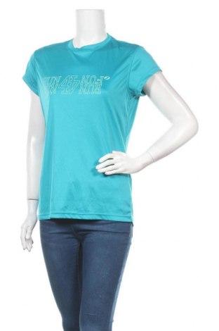 Дамска тениска SOC, Размер S, Цвят Син, Полиестер, Цена 4,46лв.