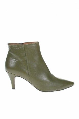 Дамски боти Brenda Zaro, Размер 39, Цвят Зелен, Естествена кожа, Цена 149,00лв.
